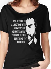 The Last of Us - Something to Fight For Women's Relaxed Fit T-Shirt