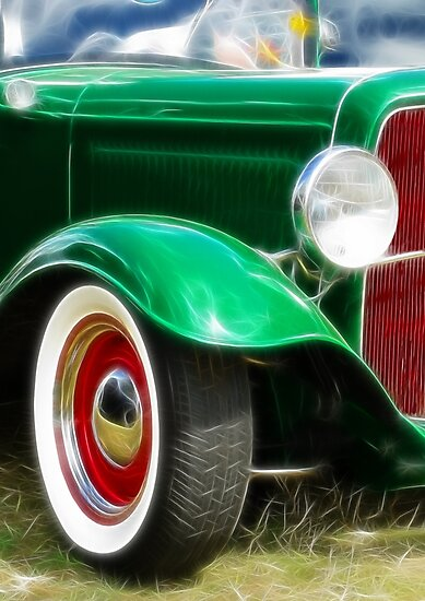 Green Hot Rod by Ra12