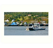 Ferry Across Petit Passage (with apologies) Art Print