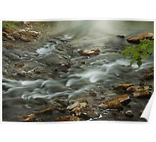Smoky water by Kelso Poster