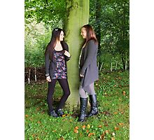Sisterly Love Photographic Print