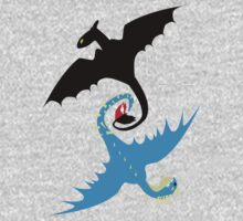 How to Train Your Dragon - Toothless and Stormfly Kids Tee