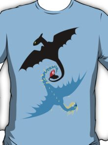 How to Train Your Dragon - Toothless and Stormfly T-Shirt