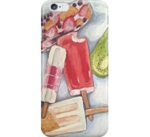 whimsical popsicle painting  iPhone Case/Skin