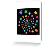 Starry Nite Greeting Card