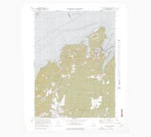 Massachusetts  USGS Historical Topo Map MA Vineyard Haven 351380 1972 25000 One Piece - Long Sleeve