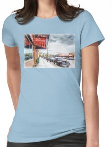 Downtown Cody Womens Fitted T-Shirt