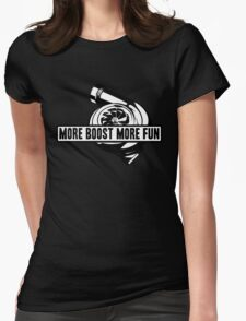 More boost Womens Fitted T-Shirt