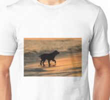 Sunset Dog Unisex T-Shirt