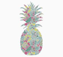 Lilly Pulitzer Inspired Pineapple In the Beginning by mlr28blu