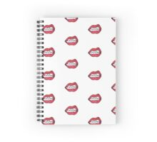 Rocky Lips Spiral Notebook