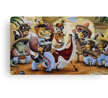 La Cucaracha by Tim Raglin Canvas Print