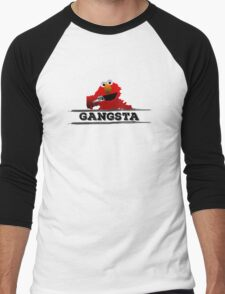 Gangsta Men's Baseball ¾ T-Shirt