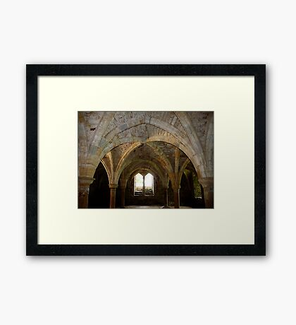 Ancient Arches Framed Print