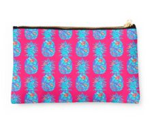 Lilly Pulitzer Inspired Pineapple Mai Tai Studio Pouch