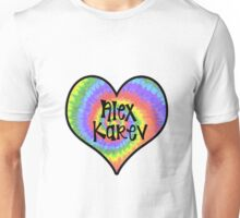 Tiedye Alex Karev Heart - Grey's Anatomy Unisex T-Shirt