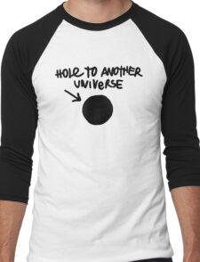 Hole To Another Universe Graffiti (Life is Strange)-- Level Men's Baseball ¾ T-Shirt
