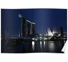 Marina Bay Sands Integrated Resort Poster