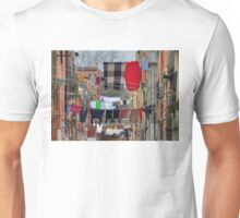 Clotheslines, Venice Italy Unisex T-Shirt