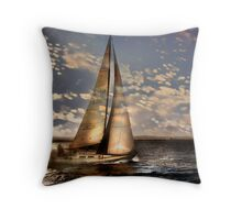 Reflections of a Primordial Connection Throw Pillow