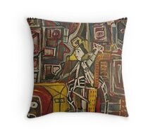 AFTER FURTHER REVIEW Throw Pillow