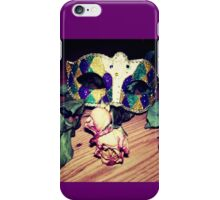 Masquerade Mystery  iPhone Case/Skin