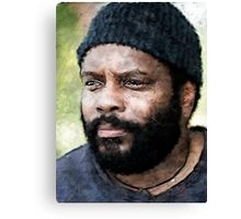 Art of the Dead: Tyreese Canvas Print
