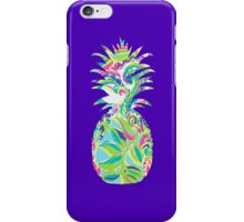 Lilly Pulitzer Inspired Pineapple Toucan Play iPhone Case/Skin
