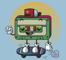 Cassette Love One Piece - Short Sleeve