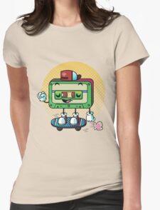 Cassette Love Womens Fitted T-Shirt