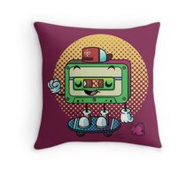 Cassette Love Throw Pillow