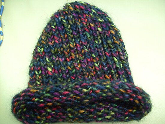 Multi woollen hat to suit all by anaisnais