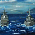 Navy Related Works by Kostas Koutsoukanidis