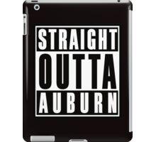 Straight Outta Auburn iPad Case/Skin