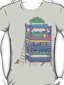 Queen Ermintrude's Patented Princess Testing Apparatus T-Shirt