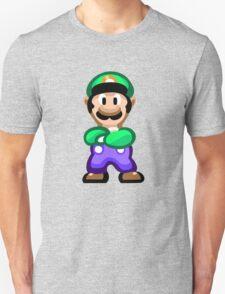 Luigi 16 Bit Unisex T-Shirt