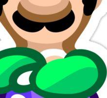 Luigi 16 Bit Sticker