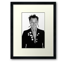 Darling Fascist Bully boy Framed Print