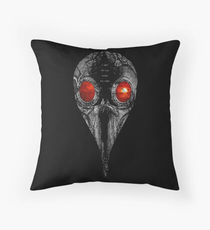 i love the calm before the storm Throw Pillow