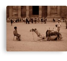 Staring Competition  Canvas Print