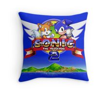 Sonic & Tails Throw Pillow