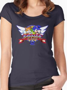 Sonic & Tails Women's Fitted Scoop T-Shirt