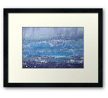 Ocean Spray  - JUSTART © Framed Print