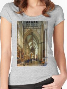 North East Aisle Women's Fitted Scoop T-Shirt