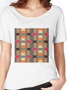 Vintage Navajo Vibes Women's Relaxed Fit T-Shirt