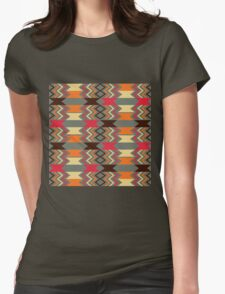 Vintage Navajo Vibes Womens Fitted T-Shirt