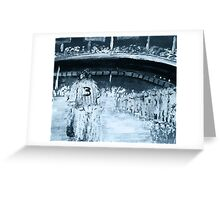 YANKEE STADIUM 1948 Greeting Card