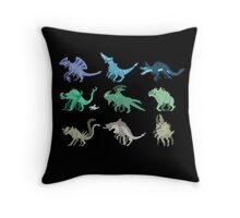 Kaiju Throw Pillow