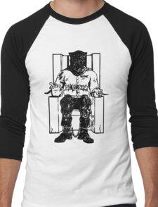 Death Row (Black Chair) Men's Baseball ¾ T-Shirt