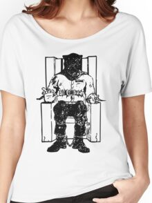 Death Row (Black Chair) Women's Relaxed Fit T-Shirt